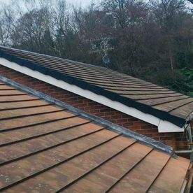 New roofing and leadwork that has been completed